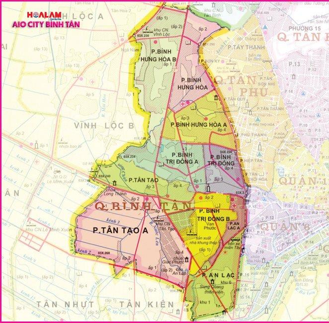 Quy hoạch quận Bình Tân - AIO CITY Bình Tân.