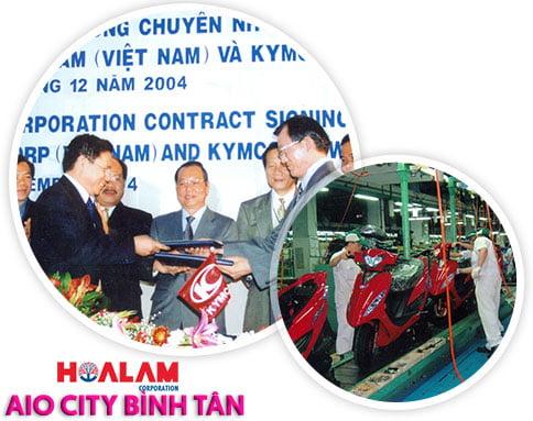 Tập đoàn Hoa Lâm - chủ đầu tư dự án Aio City đường Tên Lửa.
