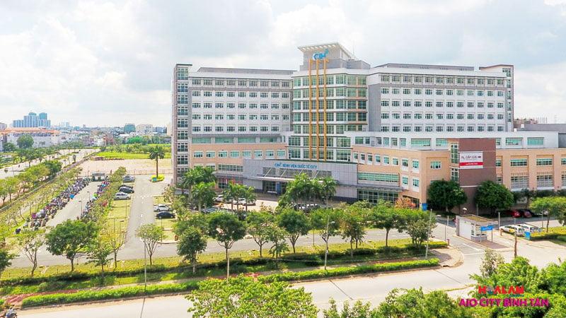 Bệnh viện quốc tế - Aeon City Bình Tân.