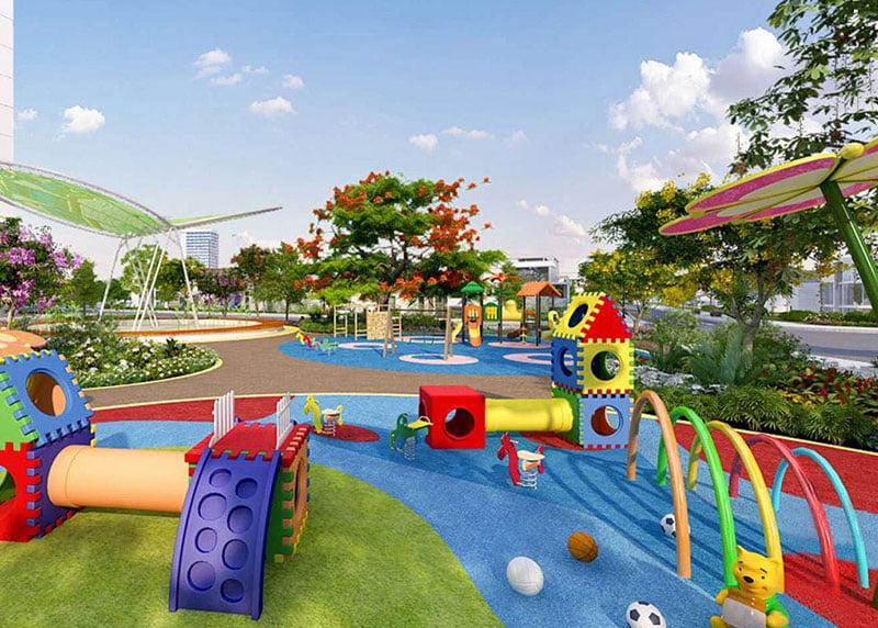 Tiện ích khu vui chơi tại căn hộ Aio Bình Tân.