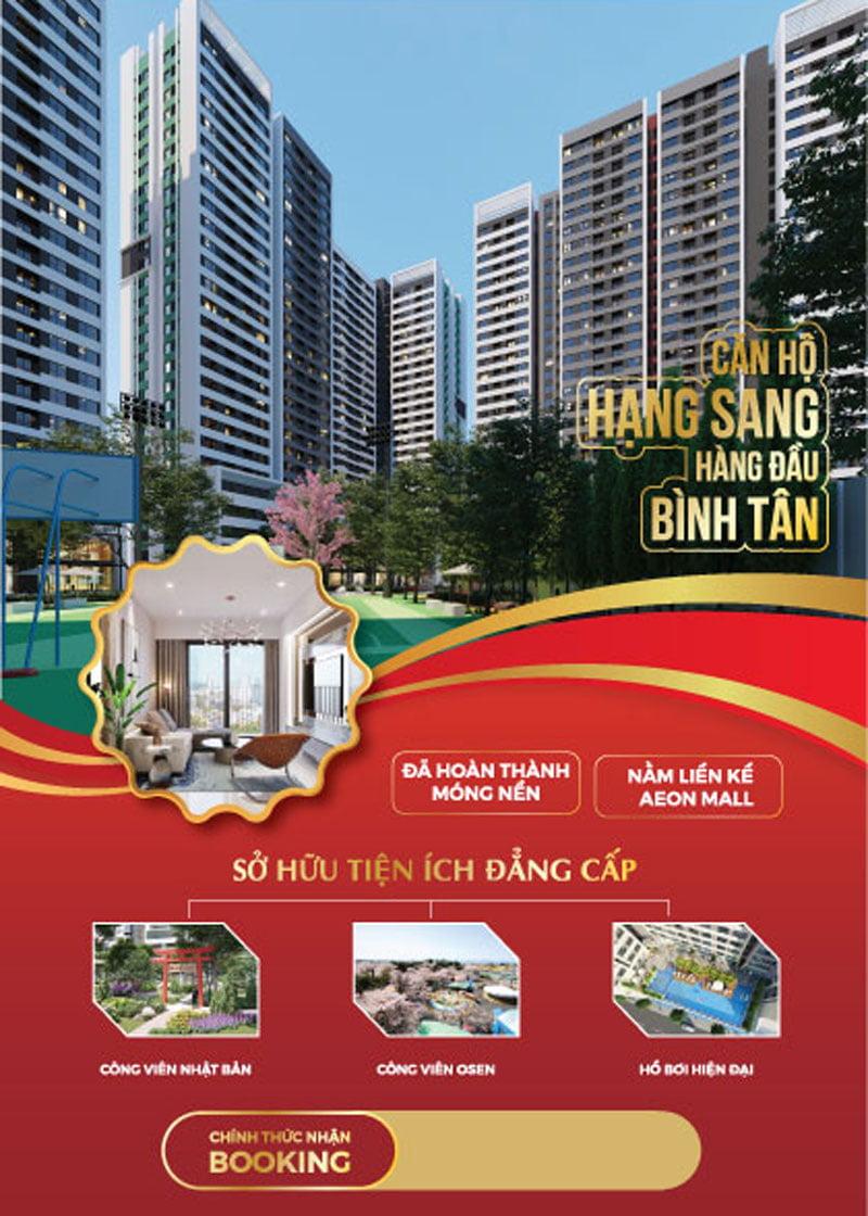 Banner giới thiệu dự án Aio City Bình Tân.